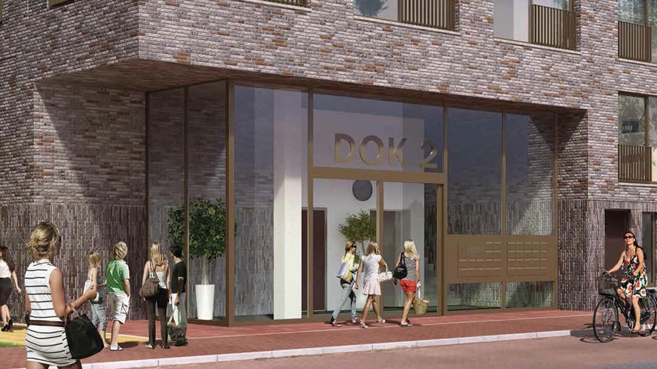 38 appartementen Eemskwartier Dok 2 Groningen